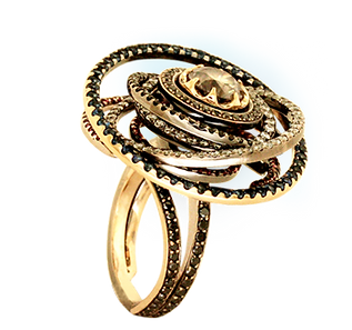 Exclusive gold ring
