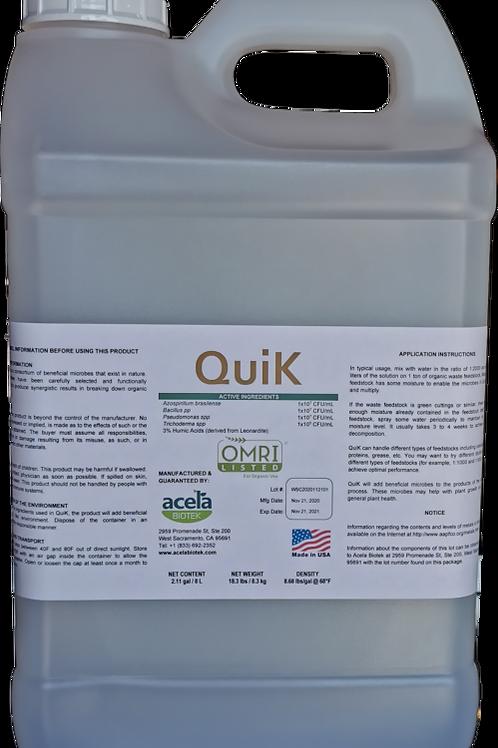 QuiK - 2 gallons