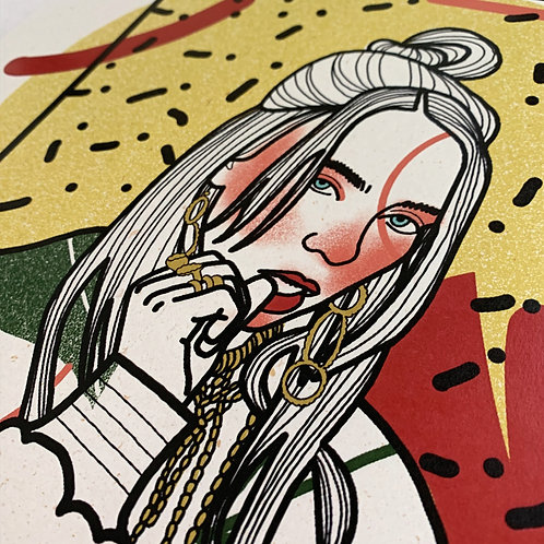 Billie Eilish PRINT