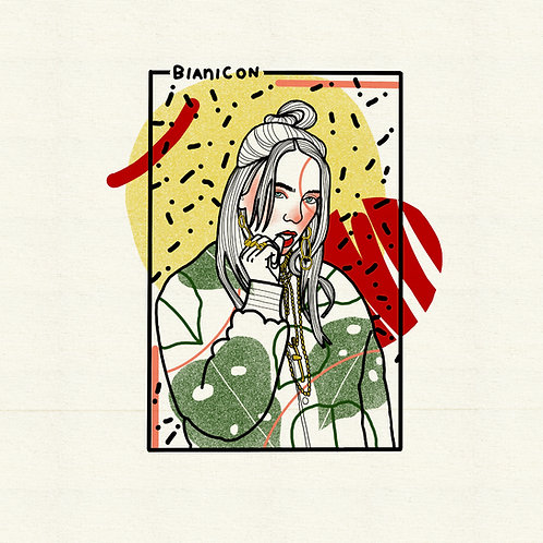 Billie Eilish by BIANICON
