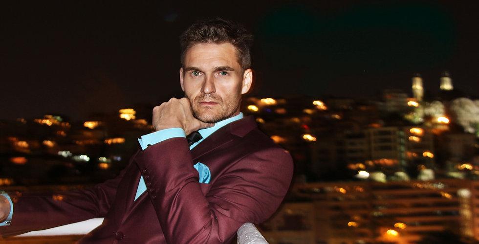 Ward Arnold, handsome male singer, Canadian James Bond