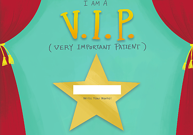 I Am A Very Important Patient (VIP Book)