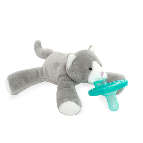 Gray Kitten WubbaNub Pacifier