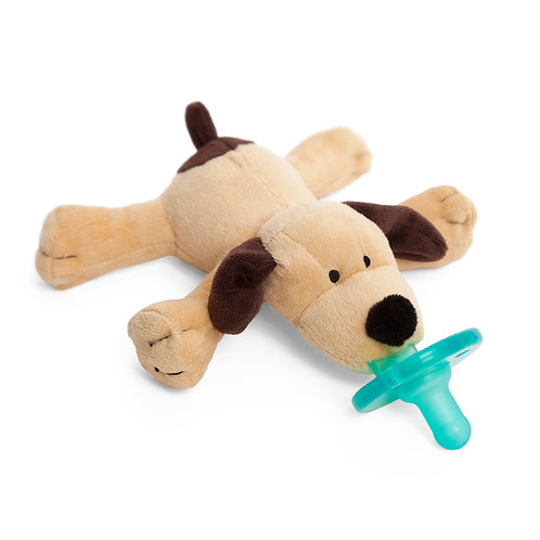 Brown Puppy WubbaNub Pacifier