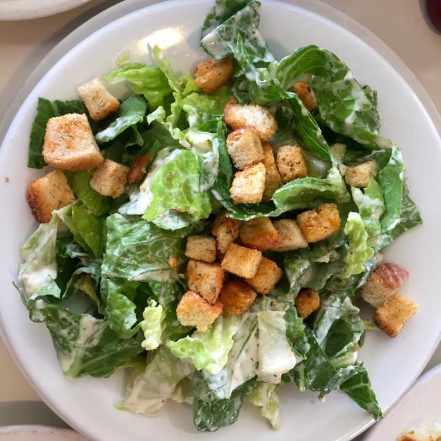 Caser Salad at Harrys