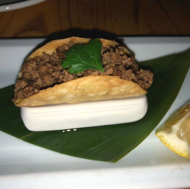 Kobe Beef taco