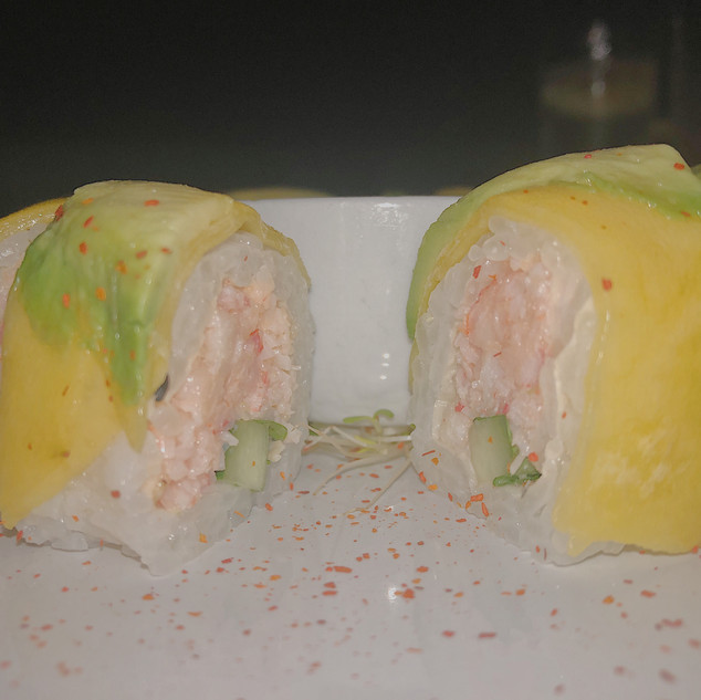Mango Sushi Roll at Kabuki