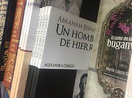 Alexandra Ciniglio, comunidad judía de Panamá, Abraham Eisenman, Colón, biografías
