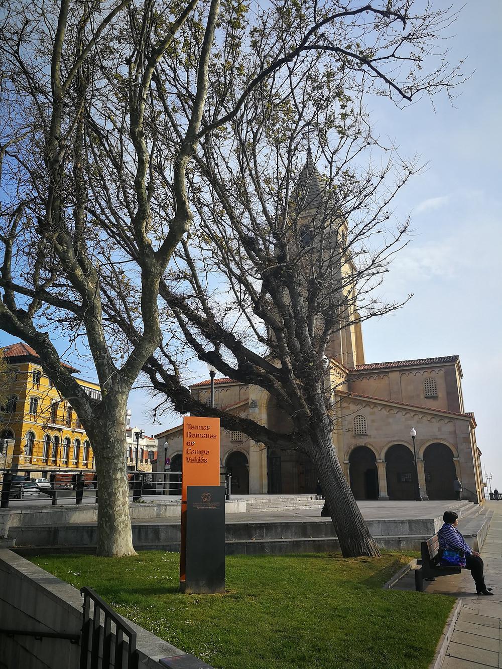 Iglesia de San Pedro, Gijón, Asturias, arqueología, investigación