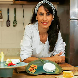 Cynthia Brant - Queijo Vegano