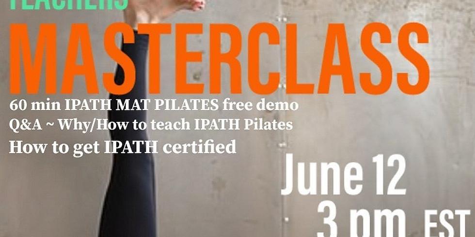MASTERCLASS-demo IPATH® Mat Pilates