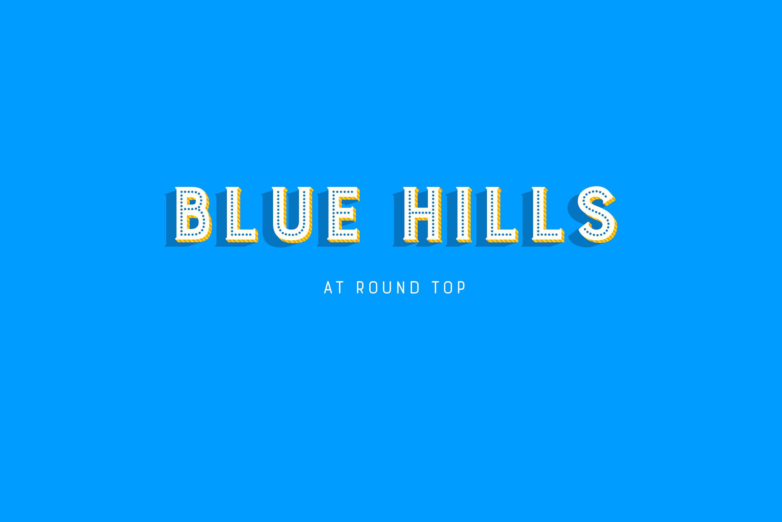 Blue Hills at Round Top | Texas Antique Week | Fall Show 2019 on
