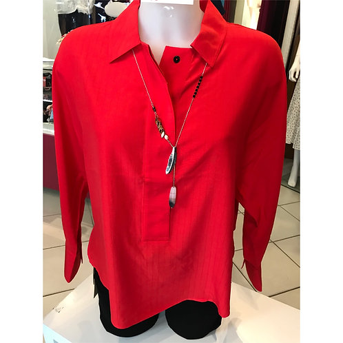 Blouse coupe oversize