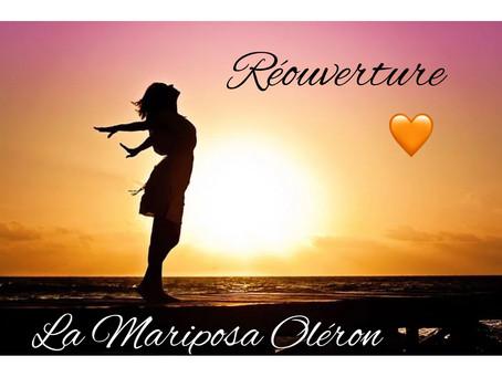 Réouverture de La Mariposa le 19 mai 2021
