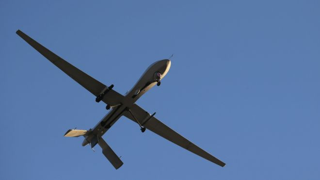 Armed Drones over the Middle East Worldwide Breaking News