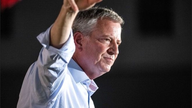New York mayor Bill de Blasio ends US presidential race Worldwide Breaking News