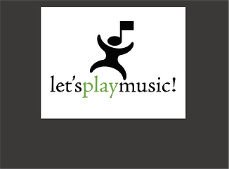 LPMusic Logo with Gray Background for Wi