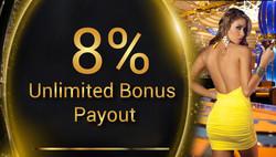 Unlimiter Bonus 8%