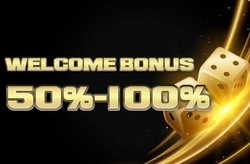 Welcome Bonus 50%-100%