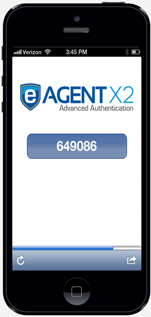advanced authentication two factor mobile app