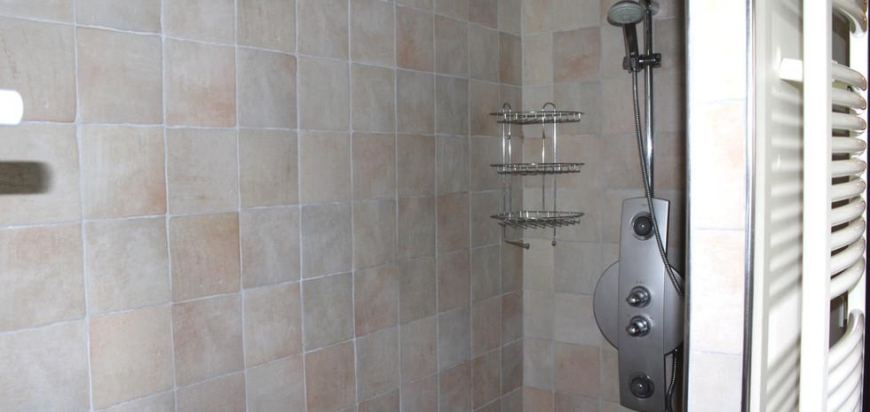 Updated tile shower