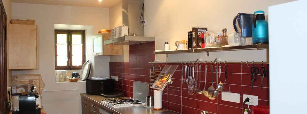 Updated kitchen with all the tools
