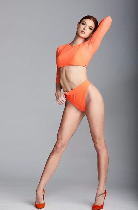 Young Model Posing