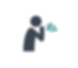 icon of a person vomiting