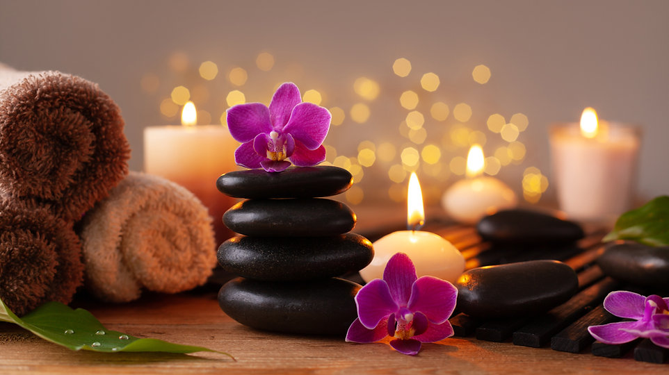 Spa, beauty treatment and wellness backg