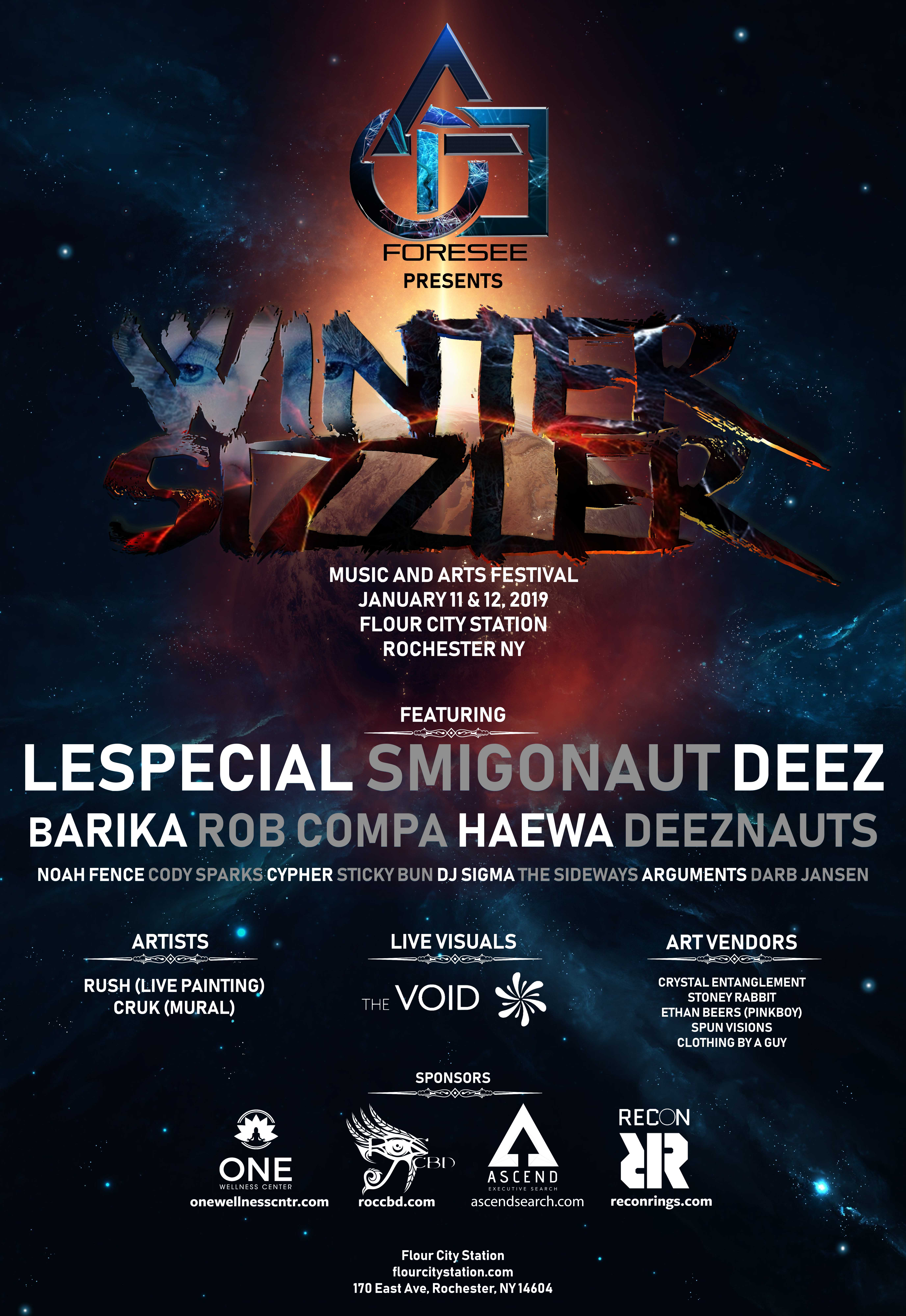 2019 Winter Sizzler Poster