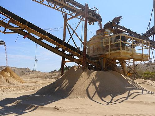 B-Roll: Industrial - Sand& Gravel