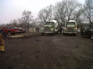 concrete trucks slab jacking