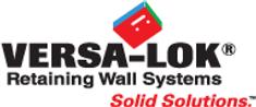 versa lok retaining wall seating wall patio hardscape hydroseeding erosion control