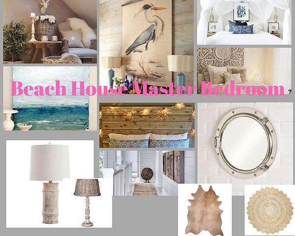 Beach House Master Bedroom for Jane Wher