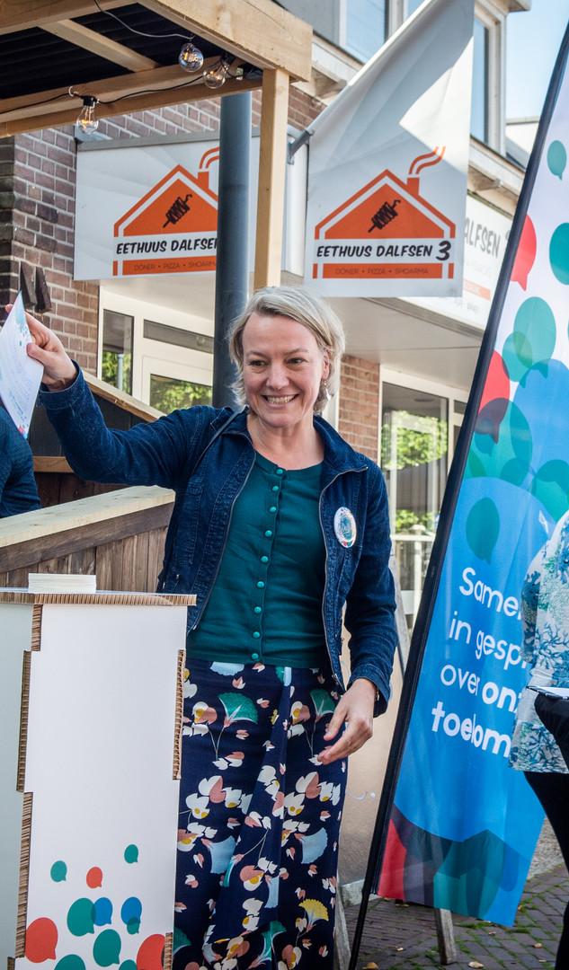 Dalfsen - de burgemeester stemt