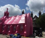 Pink Church Fashion Clash