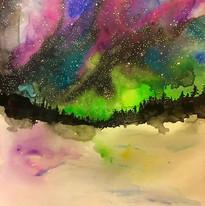 Aurora borealis 🌙🌌💖