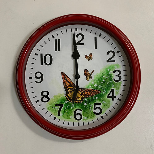 Painted Clock 2