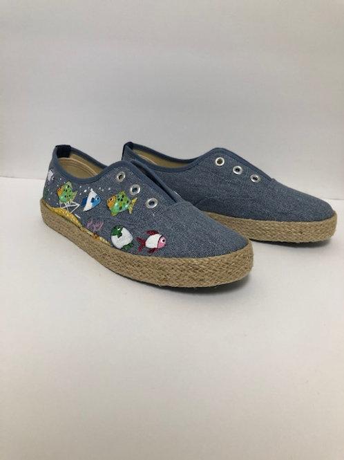 Painted Shoes_Khaki 5