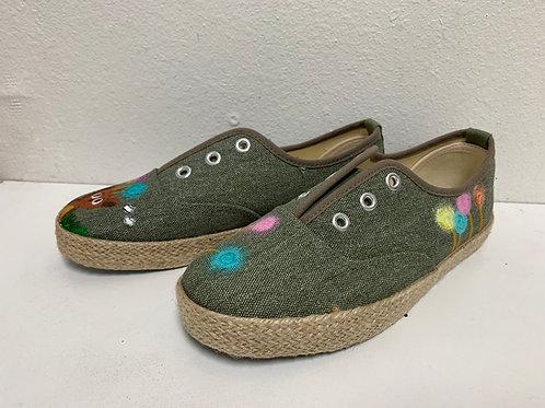 Painted Shoes_Khaki 3