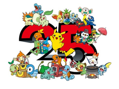 Pokémon is 25 Years Old Now!