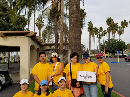 SNU S.California Alumni Golf Tournament Volunteer, March 2018