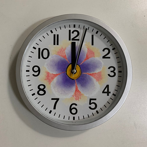 Painted Clock 3