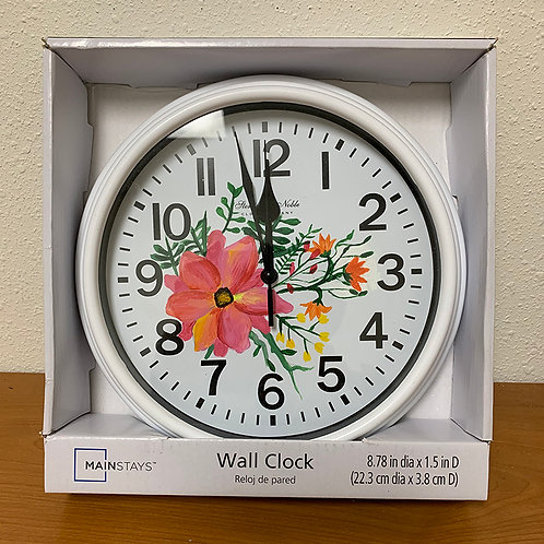 Painted Clock 11