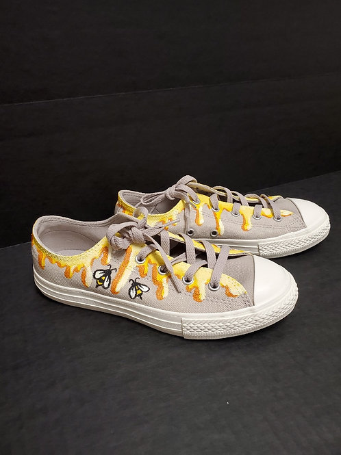 Painted Converse Honey