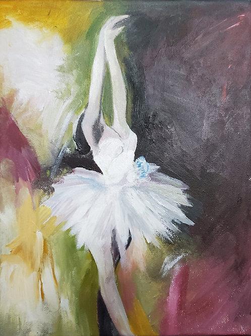 Painting Ballerina (9x12)