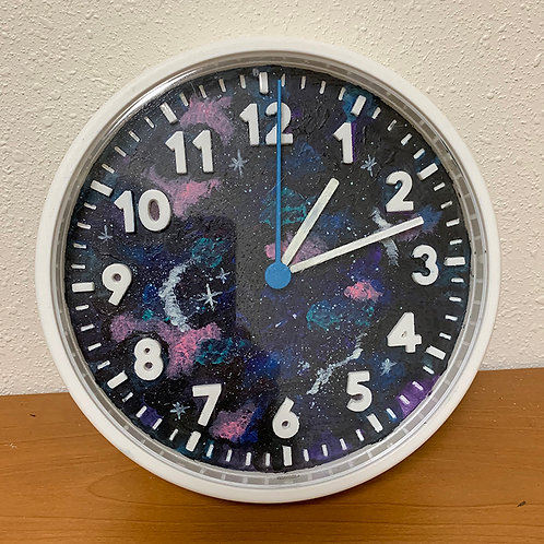 Painted Clock 14