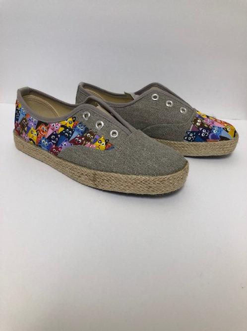 Painted Shoes_Khaki 4