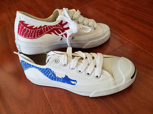 Painted Converse Dragon