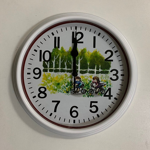Painted Clock 1